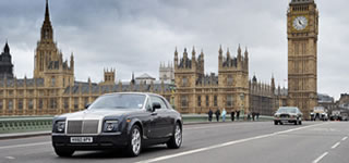 Silver Rolls Royce Phantom Hire