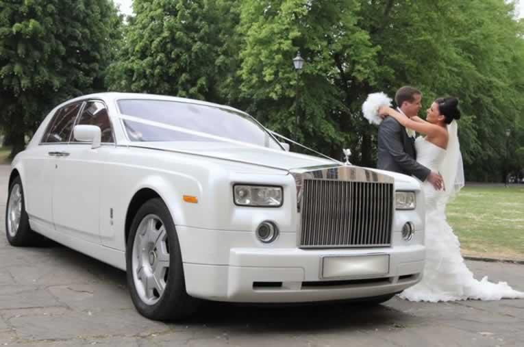 White Rolls Royce Phantom Hire Herts Rollers