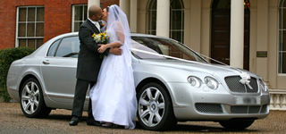 Silver Bentley & Rolls Royce Hire