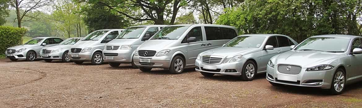 executive car hire fleet lineup