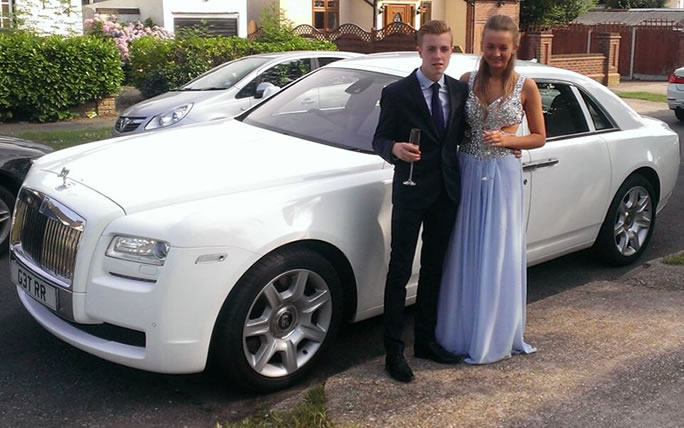 prom rent for limo a ferrari red passenger bentley hire