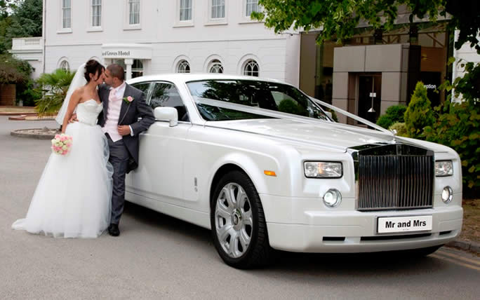 royce wedding car Rolls