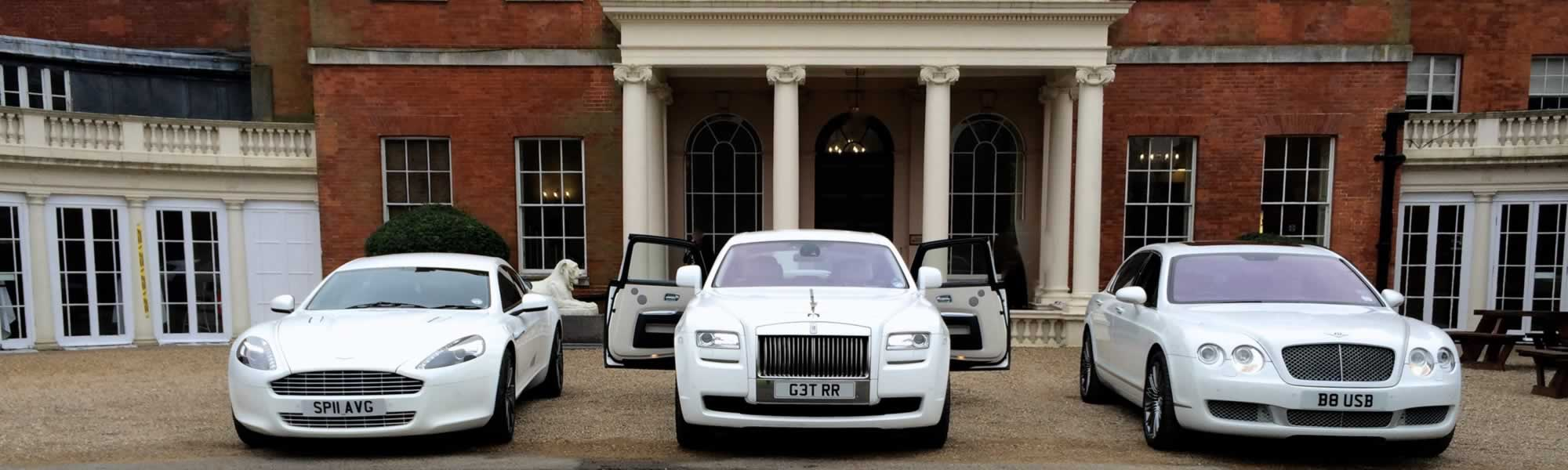 White Wedding Car Hire Options