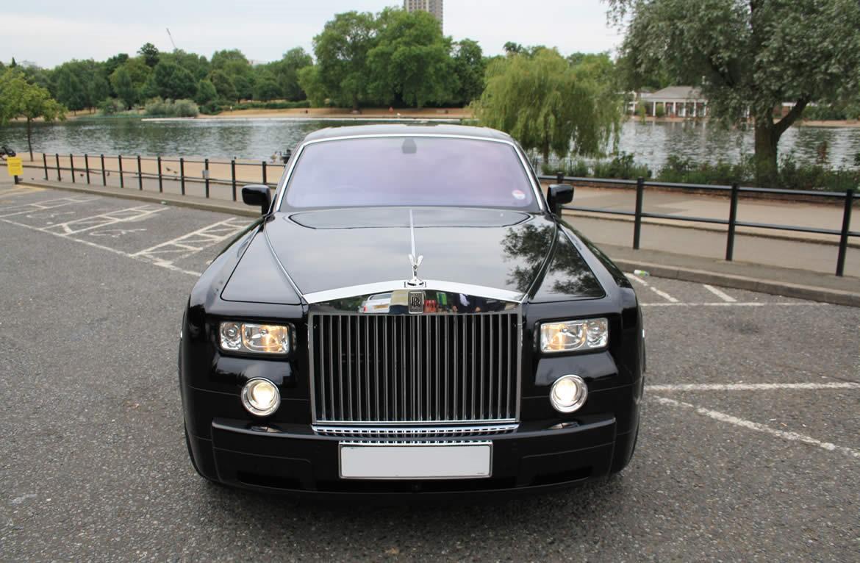 Black Rolls Royce Phantom Hire Herts Rollers