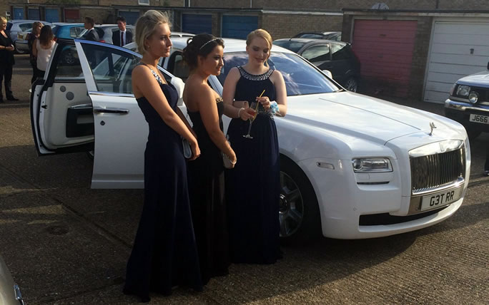 Car Rental With Car Seat >> Rolls Royce Prom Car Hire   Herts Rollers
