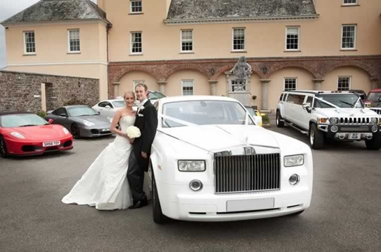 White Rolls Royce Phantom Hire Herts Rollers Arlington Texas Wedding Transportation Al