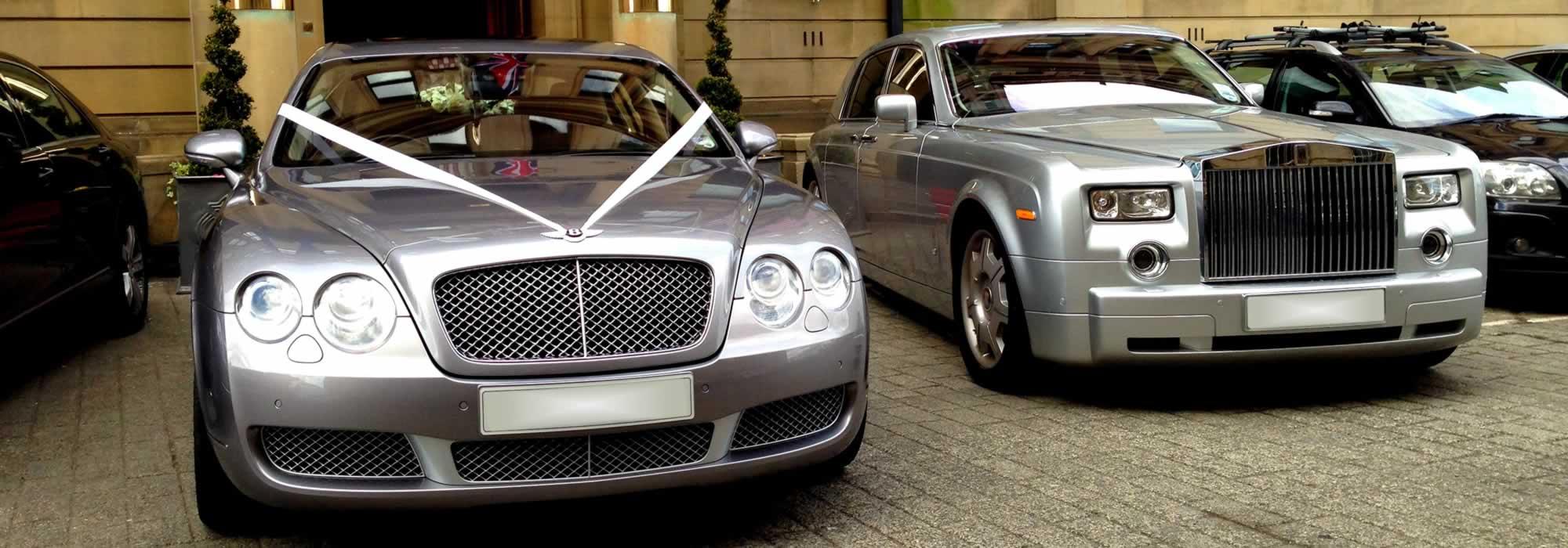 Bentley Flying Spur Silver Herts Rollers